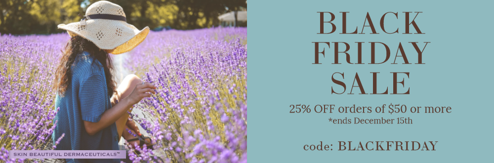 2019 Black Friday SALE On Natural-Based, Anti-Aging Skincare Products |SBDermaceuticals